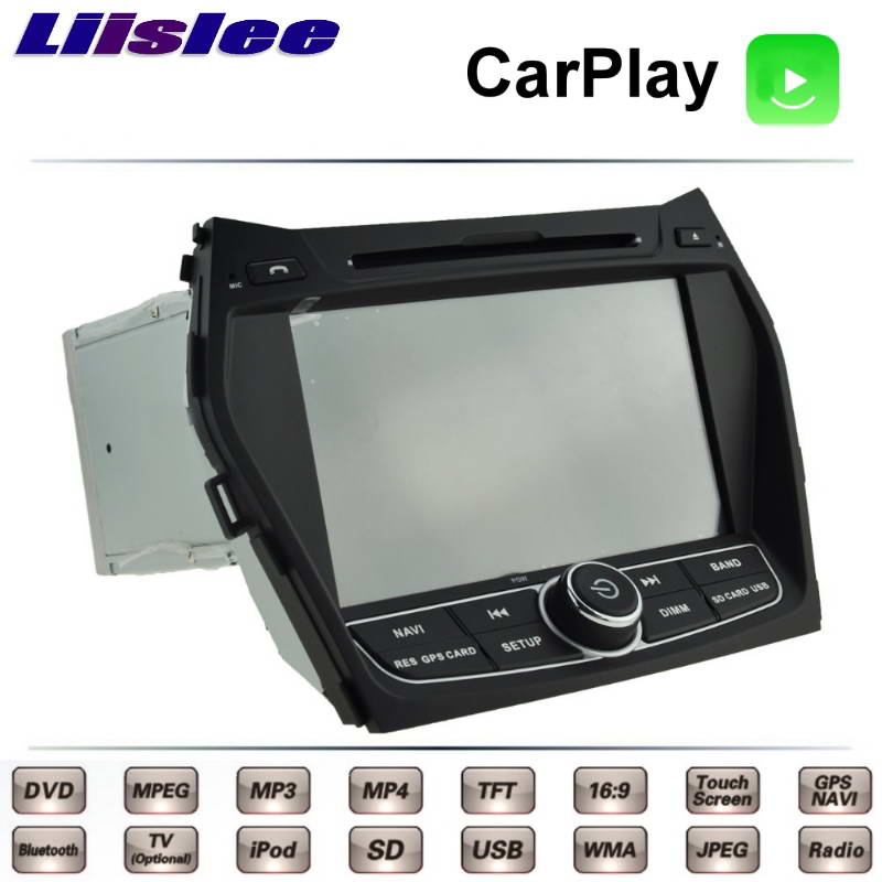 For Hyundai ix45 Santa Fe Grand SantaFe DM 2012~2017 Car Multimedia TV DVD GPS Radio Original Style Navigation Liislee Navi 2