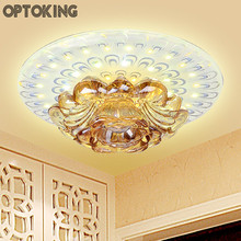 15W Modern Led Crystal Ceiling Light  Corridor Decoration Ceiling Lamps Living Room Aisle Porch Acrylic Home Indoor Ghting