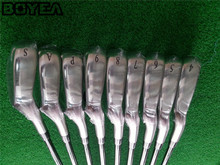 Brand New Boyea MP800 Iron Set Golf Forged Irons Golf Clubs 4-9PAS Regular and Stiff Flex Steel Shaft With Head Cover