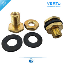 High Quality Bathroom Brass Tank Bolt Accessories For WC Bathroom Multi Flush Toilet Tank Replacement Tools VTF518 z3