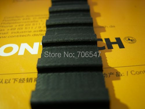 Free Shipping 1020H100  teeth 204 Width  25.4mmmm=1  length 2590.80mm Pitch 12.7mm 1020 H 100 T Industrial timing belt 2pcs/lot<br>
