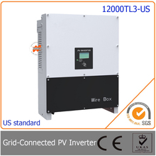 12000W/12KW grid tie inverter,  three phase with 97.5% high efficiency,  easy install for photovoltaic power generation system