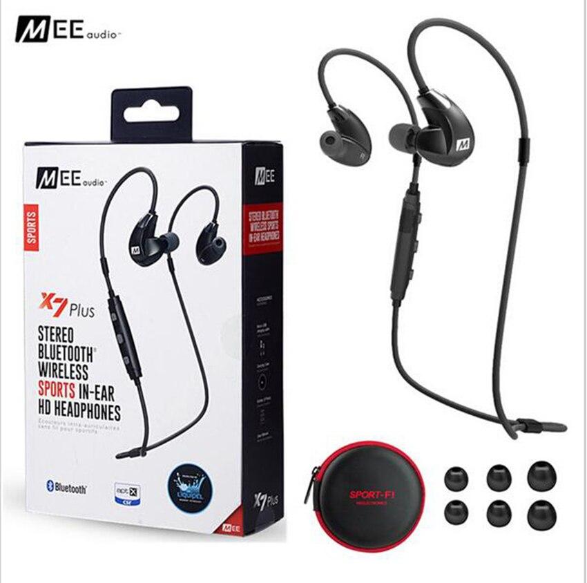 MEE Audio X5 X6 Plus X7 X8 Wireless Noise Isolating Waterproof In Ear Stereo Headset Bluetooth Running Handfree Sports Earphones<br>
