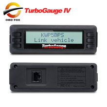Turbogauge IV 4-in-1 Vehicle Computer OBDII/EOBD car trip computer Digital Gauges scan gauge car scan tool free shipping