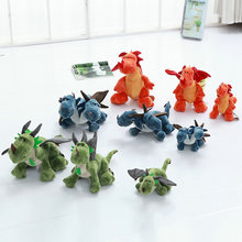 2017 New Style baby doll boy gift 23-60cm Cute Blue Dinosaur plush Toys Green Dinosaur Stuffed Plush Toys