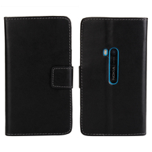 For Nokia Lumia 920 Cover Case Wallet Flip PU Leather Classical Book Purse Mobile Phone Accessories Cover For Nokia Lumia 920(China)