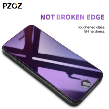 Pzoz glass 5s for iphone tempered screen protector 2.5D Anti Blue Light Front Cover for iphone 5s 5 se glass film 9H color