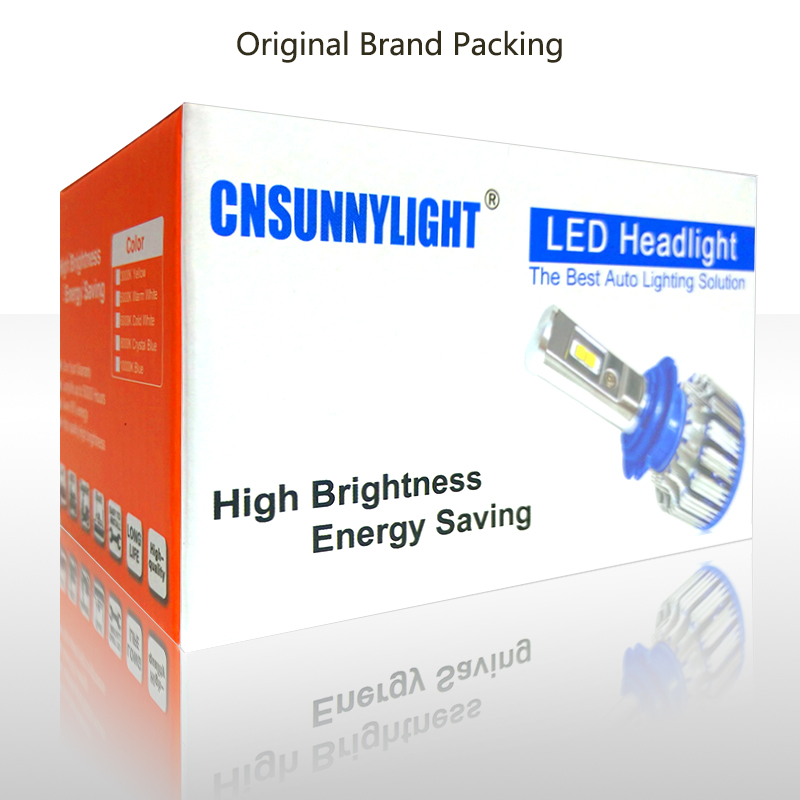 T1 led lights brand packingh