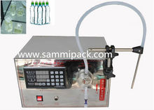 China filling manufacturers LT-I digital control filling machine,small portable Magnetic pump liquid filling machine(China)