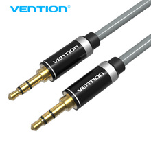 Vention High Quality Aux Cable Jack 3.5 Audio Cable 3.5mm Aux Speaker Cable For iPhone 8 Car Stereo Headphone cable audio Jack(China)