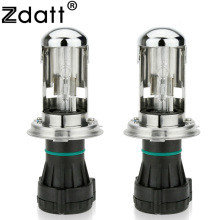 Zdatt HID Light H4 Hid Xenon Bulb Bi Xenon 35w Lamp Kit High Low Headlights without Ballast 4300K 6000K 8000K for Car Motorcycle