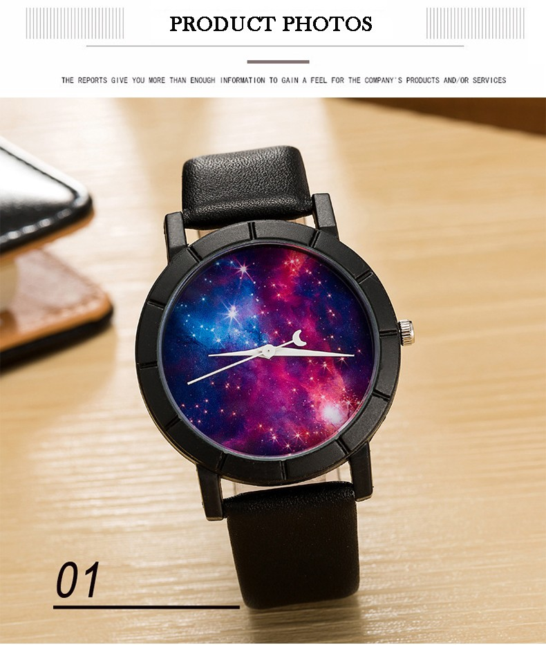 Shinning Starry Sky Fashion Watch For Her 02