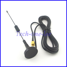 10 piece/lot GPRS GSM Antenna 900-1800Mhz 3dbi 3M Cable SMA Male Magnetic Base Remote Control(China)