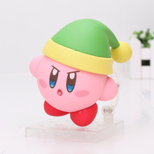 4inch Q Version Kirby's Dream Land Kirby PVC Action Figure Toys Kirby Brinquedos Models Birthday Gifts For Boys Girls(China)