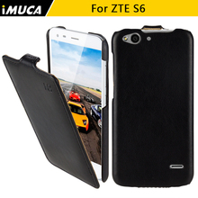 zte blade s6 case cover iMUCA mobile phone cases for zte s6 q5 phone cases skin shell full body protection cover bag(China)