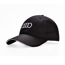 Hot Sale 2017 Summer Style Baseball Cap Velicle Brand Golf Cap Audi Car Fans Cap Men Women Cotton Sports Gorras Free Shipping