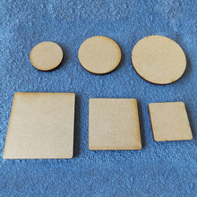 50 Pcs Blanks Wooden Square Round Natural Rustic Wood Crafts Tags Wedding DIY Decorations Wooden Craft Supplies Ornaments