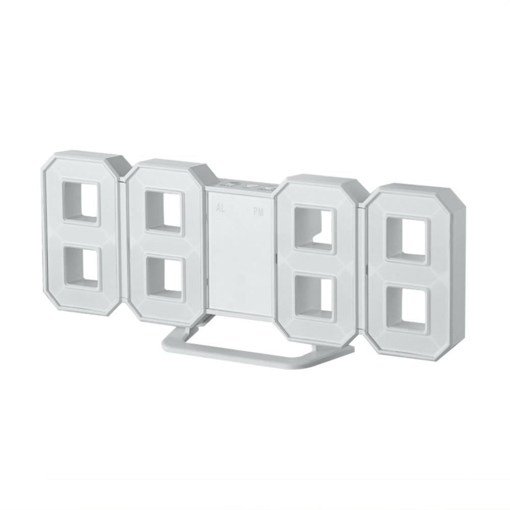 8 Shaped Led Display Digital Table Clocks Thermometer Hygrometer Nike Sock Dart Ampquotblack Whiteampquot Calendar Weather Station Forecast Desktop Clock Drop Shipping Us305
