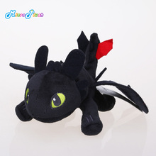 9'' Hot Toys How To Train Your Dragon Plush Toy Toothless Dragon Stuffed Animal Dolls Movie Toys For Children(China)