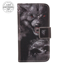 AIYINGE Lovely PU Leather Cell Phone Wallet Cards Cover Pouch Protector Case For Nokia N8(China)