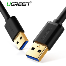 Ugreen USB to USB Cable Type A Male to Male USB 3.0 2.0 Extension Cable for Radiator Hard Disk Webcom USB 3.0 Cable Extender(China)