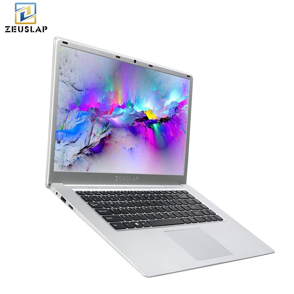 ZEUSLAP 15.6inch 6GB Ram+1TB HDD Windows 10 System Intel Apollo Lake Quad Core CPU 1920*1080P Full HD Laptop Notebook Computer