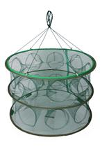 Portable Fishing Cages Collapsible Fishing Nets Network Casting Fishes Shrimp Crayfish Catcher Nets Fishing Tackles FT0012