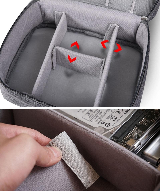 Travel Organizador Portable Digital Accessories Gadget Devices Organizer USB Cable Charger Tote Case Storage Bag Hot Sale (8)