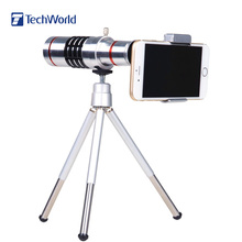 Universal 18X Zoom Mobile Phone Lens Telephoto Camera Lens With Mini Tripod Kamera Lens Telefon Lensi for iPhone Samsung HTC LG