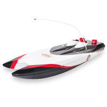 2017 Hot sell electric remote control model toy 3252 4CH 75cm large high speed rc boat with 7.2V 2200mAh battery foe kid as gift