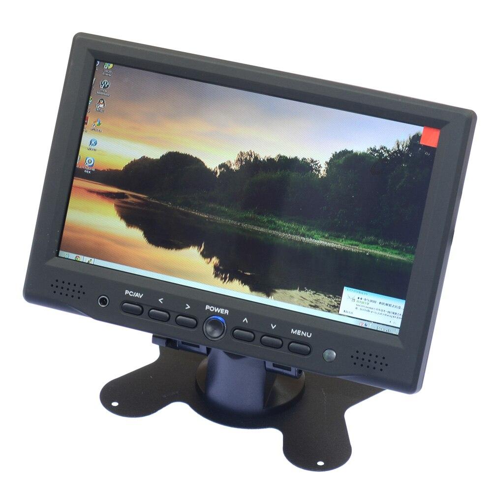 7 inch LED TFT LCD Monitor HDMI Monitor Set For HDMI Microscope Camera HDMI VGA AV1 AV2 Output<br><br>Aliexpress