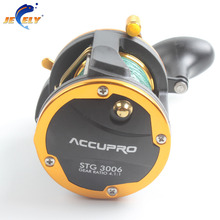 Free Shipping Aluminum Saltwater Boat Trolling Fishing Reel,Durm Fishing Reel,Jigging Fishing Reel,big game fishing reel