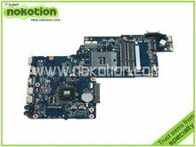 H000043520 Laptop motherboard For Toshiba Satellite C875 L870 L875 Intel DDR3 17.3 Inch Screen Mainboard
