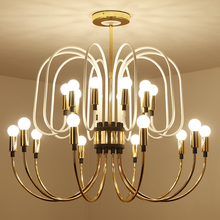 New Design Chandeliers E14 Lampholder Ceiling Chandelier Lights Living Room Hotel Loby Lighting Voltage 220V-260V Free shipping