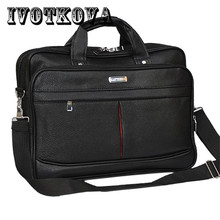Buy IVOTKOVA Business Men Briefcase Waterproof Handbag&Cross Body Bag Casual Tote Messenger Bag 14.5/15.6 Inch Male Shoulder Bag for $24.75 in AliExpress store