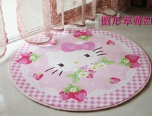 Super Soft Round Hello Kitty Carpet, The Bedroom Living Room Rug