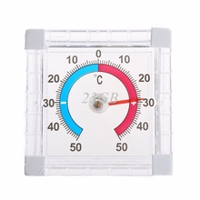 2017 NIEUWE Temperatuur Thermometer Venster Indoor Outdoor Wall Greenhouse Tuin Thuis MAY02_20