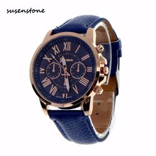 Top Fashion Brand Susenstone Men Watch Luxury Casual Clock Unisex Quartz Wrist Watch Men Clock Relogio Masculino relogio saat
