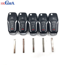HKCYSEA 5pcs New Original KD900 B Series Remote Control KD B12-3/4 With 5pcs Car Key Blade NO.38/90 For Ford Focus Modeo(China)