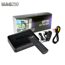 Best Linux Informail Mag 250 Tv Set Top Box Media Player Support Wifi Usb Connector / Cable Not Include IPTV Account Mag250