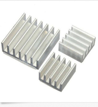 3pcs  self Adhesive Aluminum Heatsink Radiator Cooler Kit for Raspberry PI B B+ PI2 new B4-006