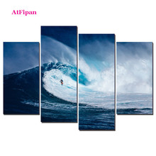 AtFipan Unframed Lanscape Painting Canvas Wall Spray Painting Modern Decorative Canvas Art Work Print On The Living Room Posters