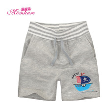 Mom's care Summer Childrens Clothes Wear Baby Boys Shorts 100% Cotton Infant Toddler shorts Knickers Breeches Trousers Pants