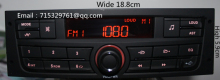 Car Radio with USB for Peugeot 207 206 301 307 308 Citroen C2 Elysee ZX C4 VW Jetta Bora Gol Removed from New Car