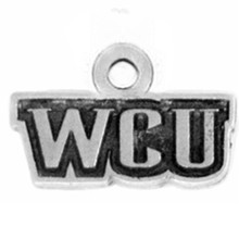 Jewelry Making Accessoires Alloy Anti-silver Western Carolina University WCU Tags Charm & Pendants(China)
