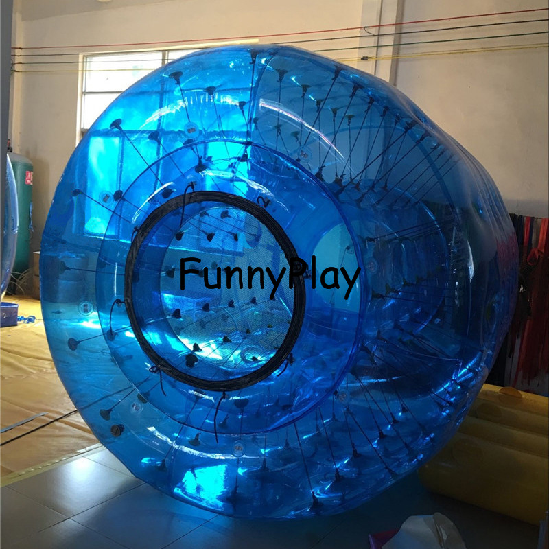 funny inflatable water roller1