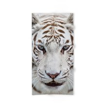 Modern Design Polyester Beach Bath Towel Funny Beautiful White Tiger 27 x 54 Inch Face towel Hand towel(China)