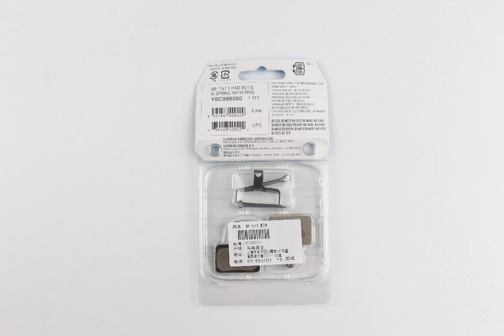 BR-M575//M525//M48x//M475.READ Genuine Shimano B01S Brake Pads w// 3 pins