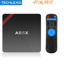 Arabic IPTV Box Android 6.0 Media Player Include 1 Year French Portuguese Dutch Europe Package Spain UK DE IT apk Account m3u(China)