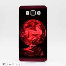 2011CA Leaking Crystal Ball Transparent Hard Cover Case for Galaxy A3 A5 A7 A8 Note 2 3 4 5 J5 J7 Grand 2 & Prime